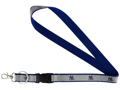 New York Yankees Aminco Inc. Sparkle Lanyard-Aminco