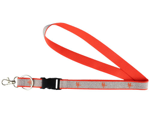 New York Mets Aminco Inc. Sparkle Lanyard-Aminco