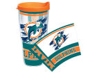 Miami Dolphins Tervis Tumbler NFL 24oz Wrap with Lid Kitchen & Bar
