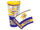 Minnesota Vikings Tervis Tumbler 24oz Tumbler With Lid Kitchen & Bar