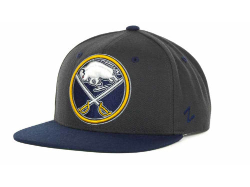 Buffalo Sabres Zephyr NHL Charcoal Refresh Cap Hats