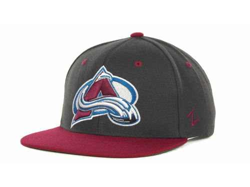 Colorado Avalanche Zephyr NHL Charcoal Refresh Cap Hats