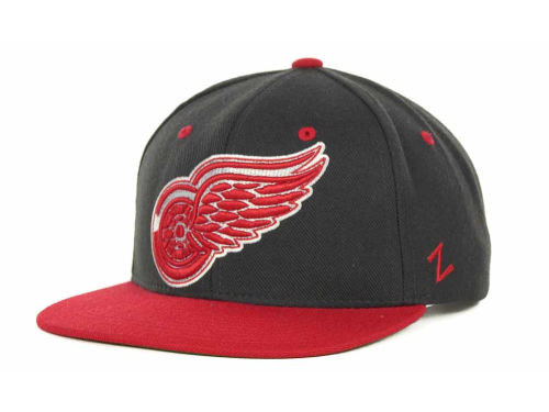 Detroit Red Wings Zephyr NHL Charcoal Refresh Cap Hats