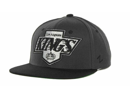 Los Angeles Kings Zephyr NHL Charcoal Refresh Cap Hats
