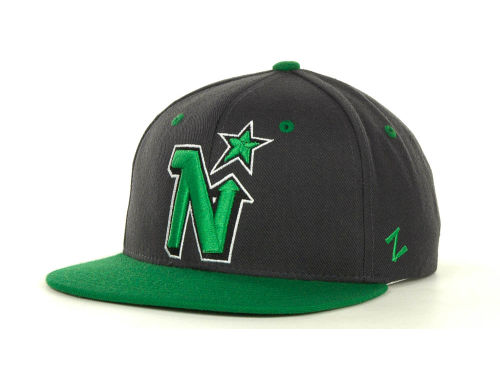 Minnesota North Stars Zephyr NHL Charcoal Refresh Cap Hats