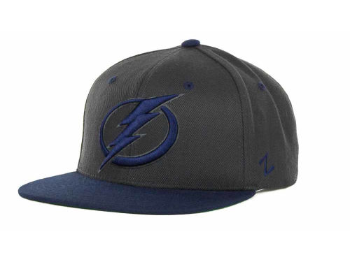 Tampa Bay Lightning Zephyr NHL Charcoal Refresh Cap Hats