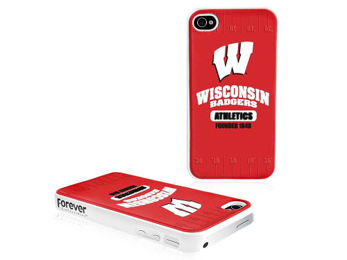 Wisconsin Badgers Forever Collectibles IPhone 4 Case Hard Logo