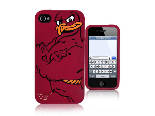 Virginia Tech Hokies Forever Collectibles IPhone 4 Case Silicone Mascot