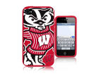 Wisconsin Badgers IPhone 4 Case Silicone Mascot Cellphone Accessories