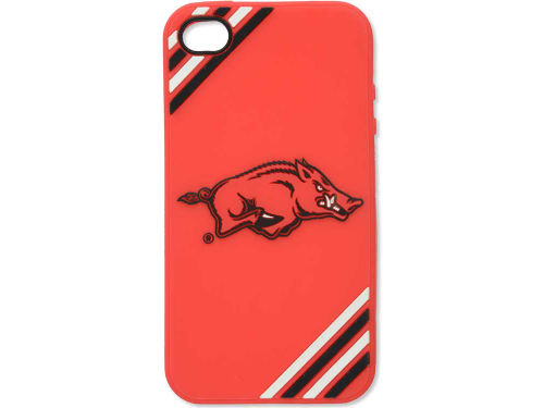 Arkansas Razorbacks Forever Collectibles IPhone 4 Case Silicone Logo