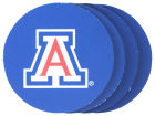 Arizona Wildcats 4-pack Neoprene Coaster Set Kitchen & Bar
