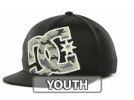 DC Shoes Youth Factory 210 Flex Cap Stretch Fitted Hats