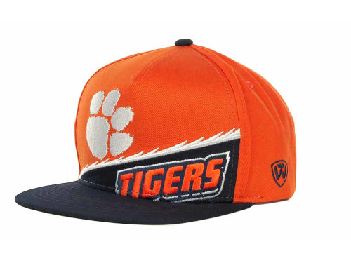Clemson Tigers Top of the World NCAA Cut Up Snapback Cap Hats