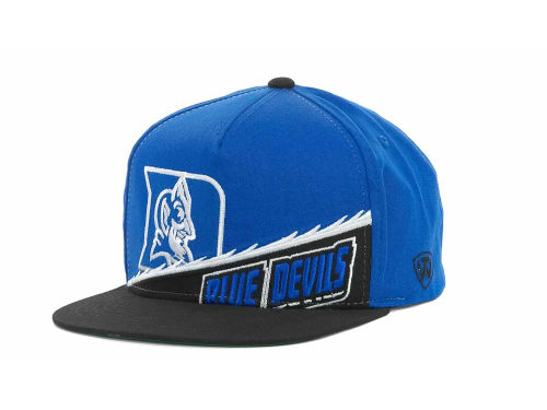 Duke Blue Devils Top of the World NCAA Cut Up Snapback Cap Hats