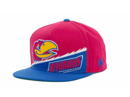 Kansas Jayhawks Top of the World NCAA Cut Up Snapback Cap Hats