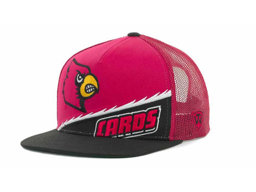Louisville Cardinals Top of the World NCAA Cut Up Snapback Cap Hats
