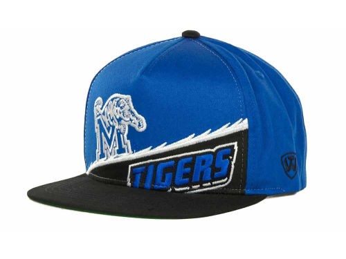 Memphis Tigers Top of the World NCAA Cut Up Snapback Cap Hats