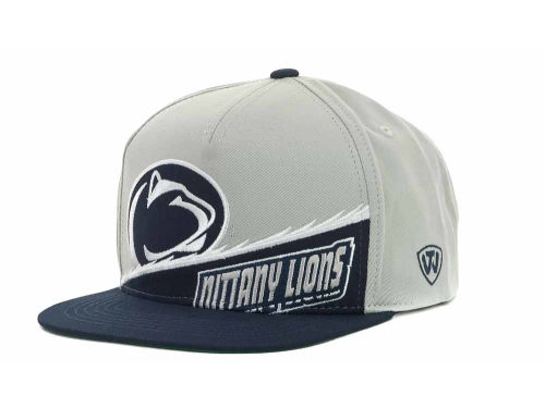 Penn State Nittany Lions Top of the World NCAA Cut Up Snapback Cap Hats