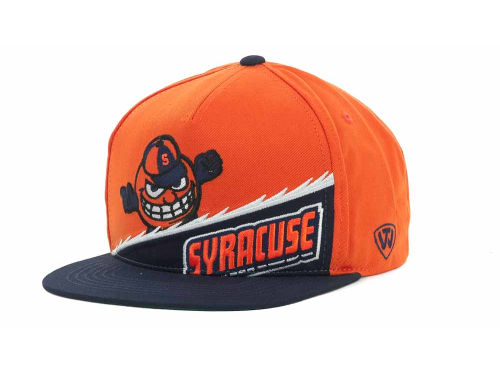 Syracuse Orange Top of the World NCAA Cut Up Snapback Cap Hats