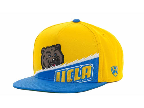UCLA Bruins Top of the World NCAA Cut Up Snapback Cap Hats