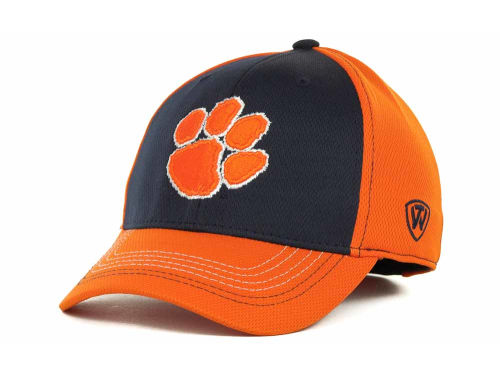 Clemson Tigers Top of the World NCAA Goal Line LLR Cap Hats