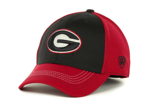 Georgia Bulldogs Top of the World NCAA Goal Line LLR Cap Hats