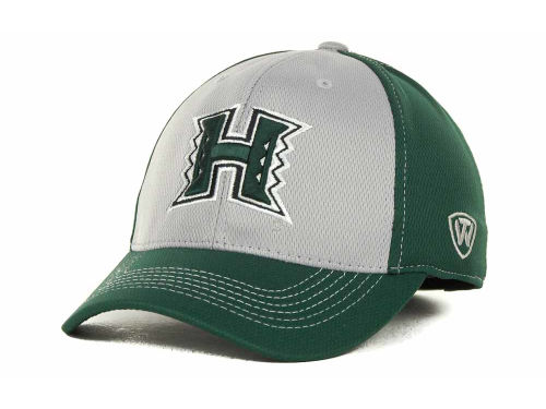 Hawaii Warriors Top of the World NCAA Goal Line LLR Cap Hats