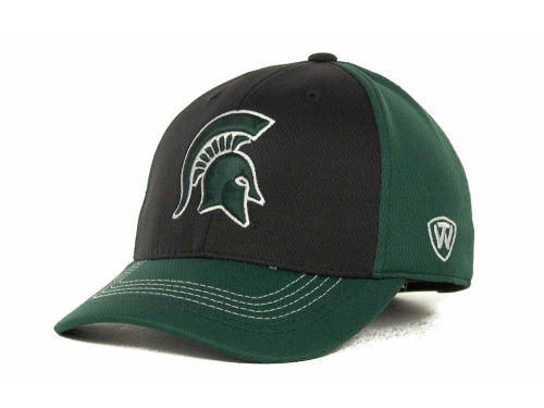 Michigan State Spartans Top of the World NCAA Goal Line LLR Cap Hats