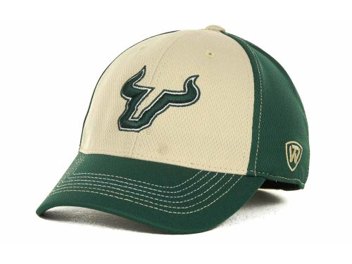 South Florida Bulls Top of the World NCAA Goal Line LLR Cap Hats