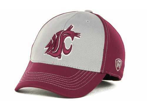 Washington State Cougars Top of the World NCAA Goal Line LLR Cap Hats