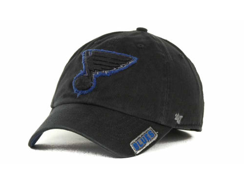 St. Louis Blues '47 Brand NHL Black Ice Franchise Cap Hats