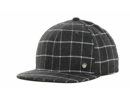 No Bad Ideas NBI Big Plaid Snapback Cap Hats