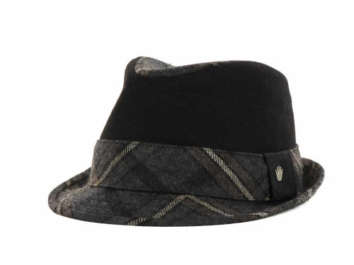 No Bad Ideas NBI Plaid and Solid Fedora Hats