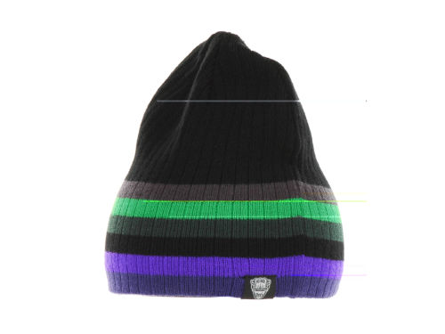 No Bad Ideas NBI Six Pop Stripe Beanie Hats
