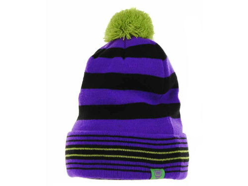 No Bad Ideas NBI Striped Cuffed Knit Hats