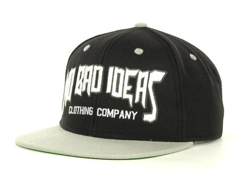 No Bad Ideas NBI Youth Thrash Snapback Cap Hats