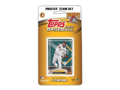 Pittsburgh Pirates 2012 MLB Team Card Set