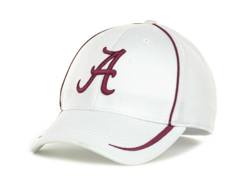 Alabama Crimson Tide Top of the World NCAA Lunatech White Cap Hats