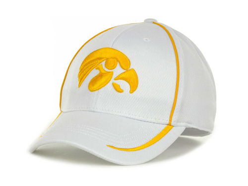 Iowa Hawkeyes Top of the World NCAA Lunatech White Cap Hats