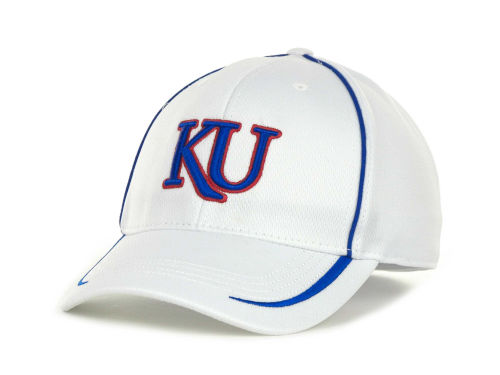 Kansas Jayhawks Top of the World NCAA Lunatech White Cap Hats