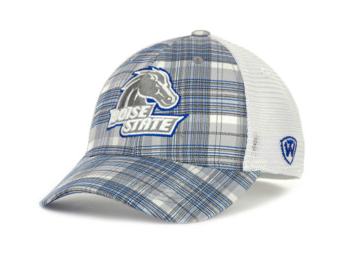 Boise State Broncos Top of the World NCAA Plaid 1 Cap Hats