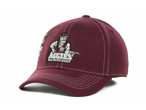 New Mexico State Aggies Top of the World NCAA Sketch One-Fit Cap Hats
