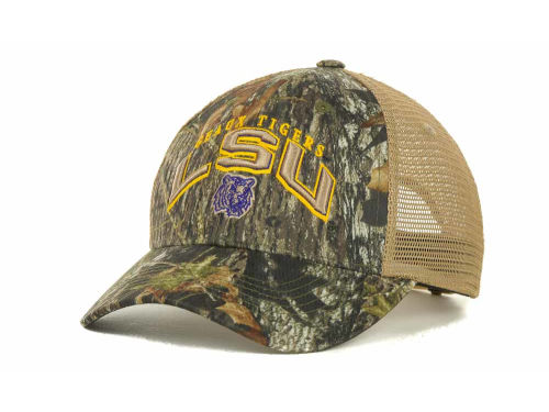LSU Tigers Top of the World NCAA Numberone Camo Snapback Cap Hats