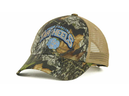 North Carolina Tar Heels Top of the World NCAA Numberone Camo Snapback Cap Hats