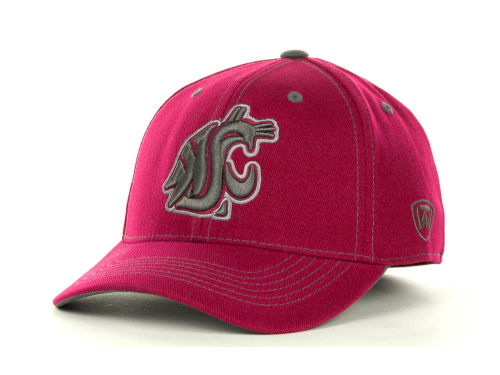 Washington State Cougars Top of the World NCAA Stride Team Color Cap Hats