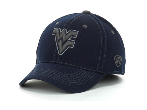 West Virginia Mountaineers Top of the World NCAA Stride Team Color Cap Hats