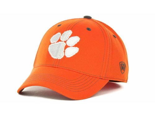 Clemson Tigers Top of the World NCAA Stride Team Color Cap Hats