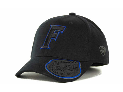 Florida Gators Top of the World NCAA Stride Black Cap Hats