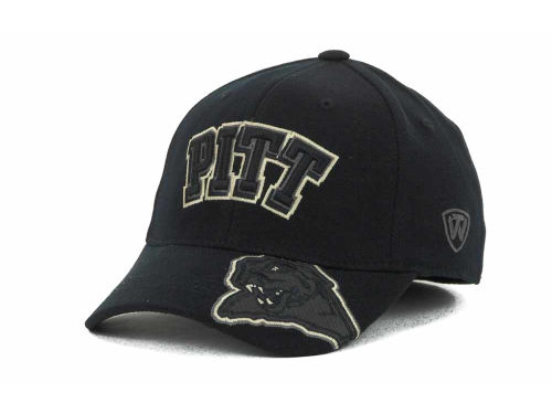 Pittsburgh Panthers Top of the World NCAA Stride Black Cap Hats