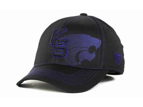 Kansas State Wildcats Top of the World NCAA Hidden Dip Cap Hats